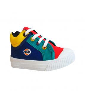 Botín Hue Hue Tricolor